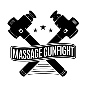 Massage Gunfight Logo