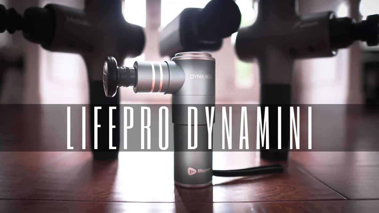 lifepro dynamini best portable massage gun